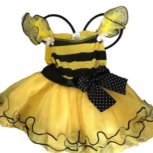 NWT Bubble Bee Dress Wings Costume